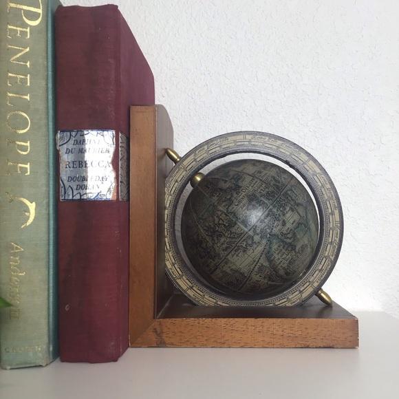 Vintage Globe 🌎 Bookend 1960's World